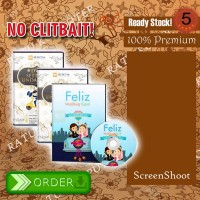 DVD DVD desain Setting undangan terbaru keren FELIZ 1 2 3 4 dan 5