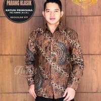 Parang Klasik Kemeja Batik Solo Lengan Panjang Full Furing By Florist - M