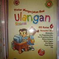Buku Kitab Pintar Mengerjakan Soal Ulangan SD Kelas 6