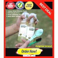 SABUN CUCI SEPATU 1 SET 250ml Shoe cleaner / pembersih sepatu ORIGINAL