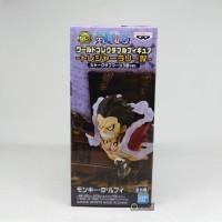WCF One Piece Treasure Rally IV shark ver. Luffy Gear 4th Ori Japver