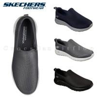 SKECHERS MENS Gowalk Max Original Sepatu Pria Sneakers - Free Dus