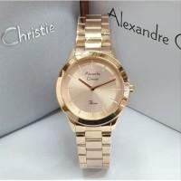Alexandre Christie Ac 2834 Jam Tangan Wanita Original Rose Gold