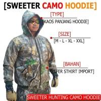 Jaket camo realtree extra hunting perbakin outdoor