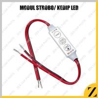 Modul strobo led flash mini controller kabel control rgb dimmer