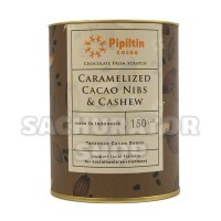 Cokelat Coklat Pipiltin Caramelized Cocoa Cacao Nibs Cashew Chocolate