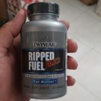 Twinlab Ripped Fuel Extreme 60 Caps Fat Burn Pembakar Lemak