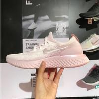 Sepatu Nike Epic React Flyknit Peach Pink Women - Premium Quality