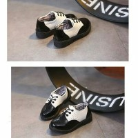 Sepatu Boots Anak Derby Formal Import Sepatu Cewek Cowok