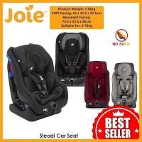 GOJEK Carseat Dudukan Mobil Bayi Joie Steadi Infant to Junior Car Seat - Coal