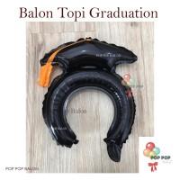 Balon Bando - Toga Topi Wisuda Graduation Anak Lulusan