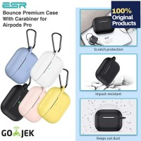 Original ESR Bounce Case Apple Airpods Pro + Carabiner / KeyChain