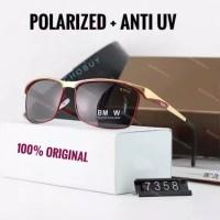 Original Kacamata Ultraviolet Polarized Polaroid Anti silau UV BMW 735