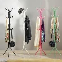 Stand Hanger Multifungsi - Tiang Gantungan Hanger Serbaguna