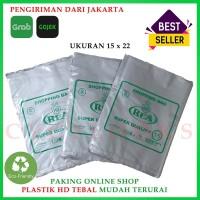 Kantong Plastik Kecil Packing Olshop Ramah Lingkungan HD Tebal 15x22