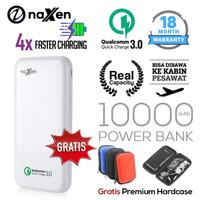 Naxen Power Bank Real Capacity 10000mAh 18W Quick Charger 3.0 Qualcomm - Putih