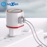 Naxen Charger 2 Port Quick Charger Fast Charging For Smartphone