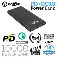 Naxen Zen 10000mAh PowerBank Quick Charge 3.0 + PD Power Delivery
