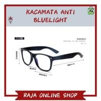 BRIGHTZONE KACAMATA ANTI BLUE LIGHT RADIASI KOMPUTER-E27- BLACK