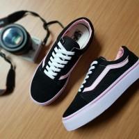 vans old skool new sepatu sneakers sepatu wanita sepatu sekolah