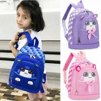 Tas Sekolah Anak Perempuan PAUD TK SD / Tas Ransel Backpack Wanita Cst