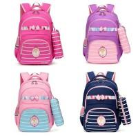 Tas Ransel Sekolah Anak Perempuan / Tas Ransel Backpack Sekolah Wanita