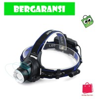 TaffLED Senter Headlamp 1 LED Cree XM-L T6 3000 Lumens - AHT404