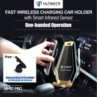 Ultimate Smart Car Mount Holder Infrared Sensor Fast Wireless Charging