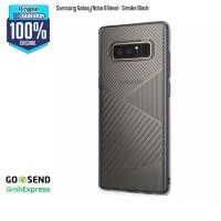 Rearth Ringke Bevel Back Case Design Samsung Note 8 - Smoke Black