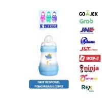 Botol Susu MAM Anti Colic Bottle 0+ Months 160ml - Blue