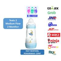 Botol Susu MAM Anti Colic Bottle 0+ Months 260ml - Blue / Biru