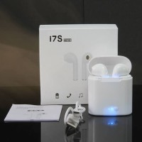 Headset I7S TWS Bluetooth 5.0 Wireless Stereo HandsFree Airpod Android