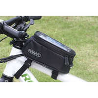 tas atas frame sepeda roshwell bisa touschreen hp ukuran 5.5 inch