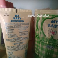 ruam popok Diaper rash cream my baby 50 g kream krim aloevera mybaby