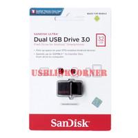 SANDISK FLASHDISK 150MB/S ULTRA DUAL DRIVE USB 3.0 32GB / USB OTG