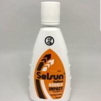 Selsun yellow double impact 100 ml shampo obat anti ketombe