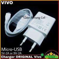 Charger Vivo V15 V15 Pro ORIGINAL 100% Fast Charging 9V-2A Micro USB