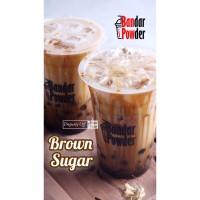 Brown Sugar Liquid Syrup - Gula Aren Cair 1kg - Palm Gula Merah Jawa