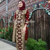 Baju 1 Set Songket Modern Asli Palembang