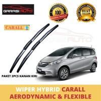 Wiper Kaca Depan Mobil Freed Hybrid Premium Carall Karet Frameless