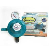 Regulator Kompor Gas + meter Quantum QRL 03