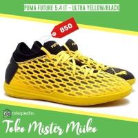 Sepatu Futsal Puma Future 5.4 IT - Ultra Yellow/Black