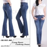 Celana Jeans JUMBO Cutbray. CK 955 402/403 - Hitam, 27