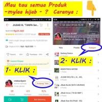 Jilbab Instan Size XXL Non Serut bahan kaos PE pad Antem murah XXL-01