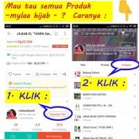 Jilbab Instan SERUT Size XXL bahan kaos PE pads Antem murah XXL-05