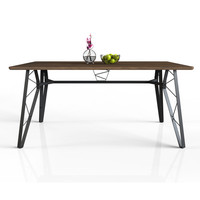 Meja makan minimalis modern meja cafe Expo M-DN-1618