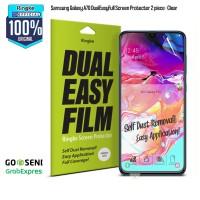 Screen Protector Samsung A70 DUAL EASY FILM Original RINGKE - Clear