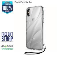Rearth Ringke Flow Premium Design Case iPhone X Ten 10 - Clear