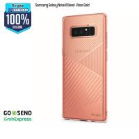 Rearth Samsung Note 8 Soft Case Original Ringke Bevel - Rose Gold