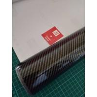 Stiker - Sticker Karbon 5D - Skotlet Maxdecal Carbon 5D - Black Gold